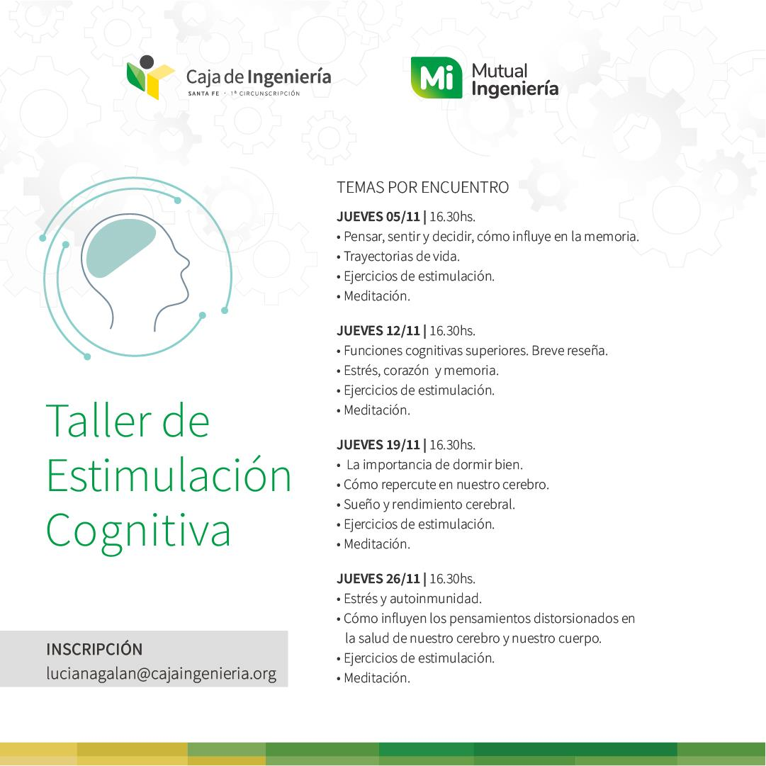Taller de Estimulación Cognitiva
