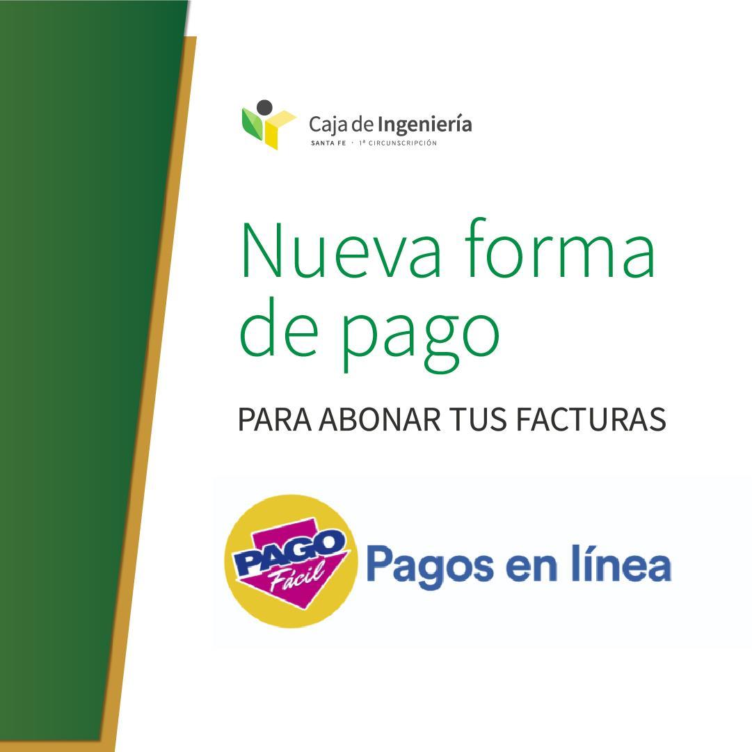 Seguimos Mejorando Para Vos: ¡Sumamos Pagos en línea de PAGO FÁCIL!